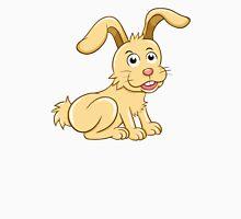 Funny yellow cartoon rabbit Unisex T-Shirt
