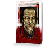 Here's Johnny! Greeting Card