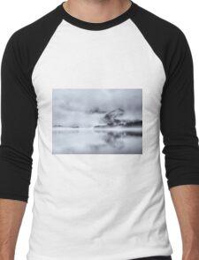 Cat Bells Through the Mist Men's Baseball ¾ T-Shirt