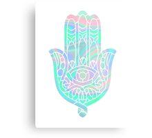 Holographic Hamsa Metal Print
