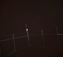 A Blindfolded Wallenda by Adam Bykowski
