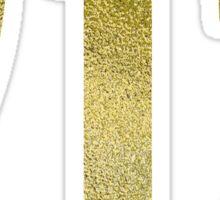 Golden Area Code - 212 Sticker