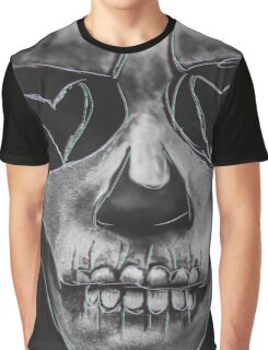 Skull hearts Graphic T-Shirt