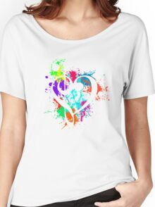 Music (White) Women's Relaxed Fit T-Shirt
