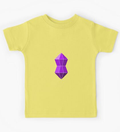 Gregory the gemstone with his eyes closed Kids Tee