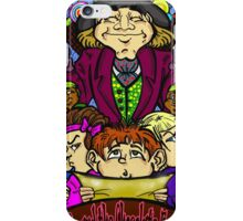 Charlie and the chocolate factory iPhone Case/Skin