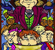 Charlie and the chocolate factory by Carolwellart
