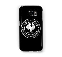 Jaeger Academy logo in white! Samsung Galaxy Case/Skin
