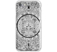 AZTEC, CALENDAR, Pre-Columbian peoples of central Mexico iPhone Case/Skin