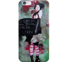 """""""Wild and Rare"""" by Monika Welch iPhone Case/Skin"""