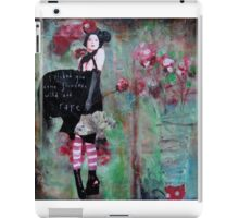 """Wild and Rare"" by Monika Welch iPad Case/Skin"