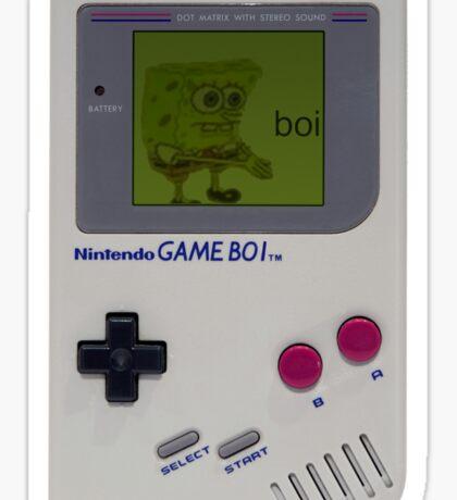 Gameboi Sticker