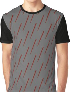 Patterned Red Wand Graphic T-Shirt