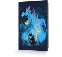 totodile, croconaw and feraligart evolutions cool design Greeting Card