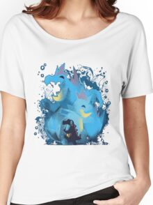 totodile, croconaw and feraligart evolutions cool design Women's Relaxed Fit T-Shirt