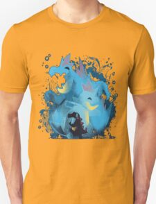 totodile, croconaw and feraligart evolutions cool design T-Shirt