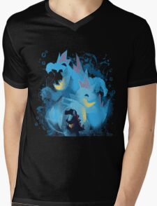 totodile, croconaw and feraligart evolutions cool design Mens V-Neck T-Shirt