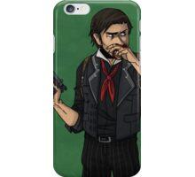 cartoon booker dewitt iPhone Case/Skin