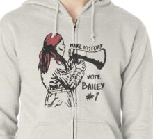 Make History, Vote Bailey Zipped Hoodie