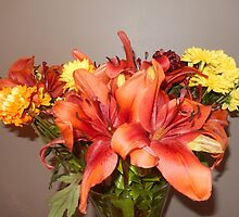 NEW - ORANGE LILIES by Colleen2012