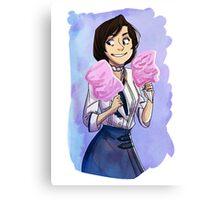 cartoon and cool elizabeth  Canvas Print