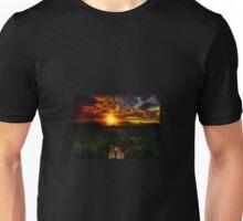 C.E. Tigers At Sunset Unisex T-Shirt