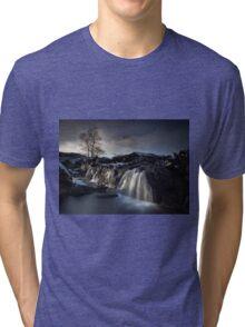 Buachaille Etive Mòr Waterfall Tri-blend T-Shirt