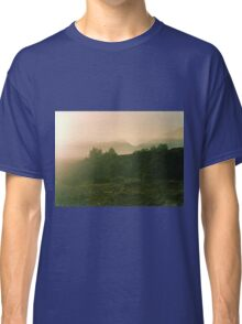 Trees and mountains Classic T-Shirt