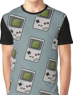 Gameboy - Pattern - Game Graphic T-Shirt