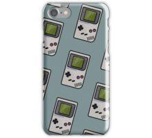 Gameboy - Pattern - Game iPhone Case/Skin