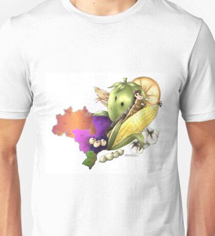 Brazil's Outbreak  Unisex T-Shirt