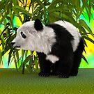 Panda Bear by Vac1