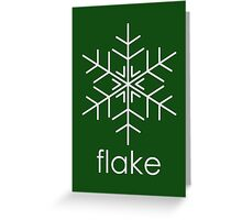 Flake 5 Greeting Card