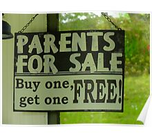 Parents For Sale Poster