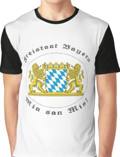 Bayern, des samma mia! Graphic T-Shirt
