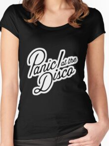 panic at the disco Women's Fitted Scoop T-Shirt
