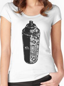 Spray Women's Fitted Scoop T-Shirt