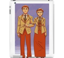 bioshock brothers iPad Case/Skin