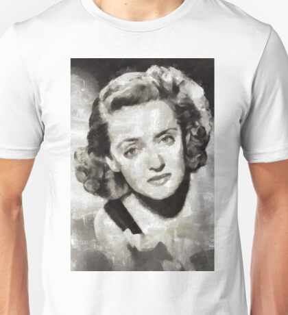 Bette Davis, Hollywood Actress Unisex T-Shirt