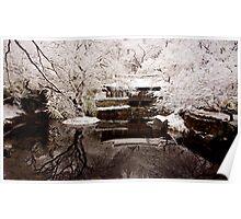 Uam Confucian School in the Snow Poster