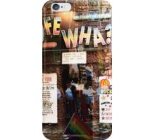 Cafe Wha, NYC, NY iPhone Case/Skin