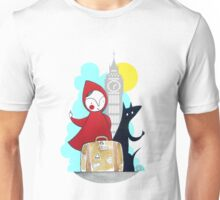Red & Wolf in London Unisex T-Shirt