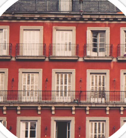 Plaza Mayor Sticker