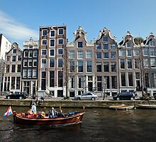 Amsterdam Canal III by Ludwig Wagner