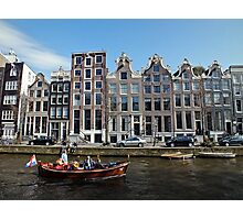 Amsterdam Canal III Photographic Print