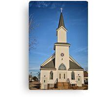 Clutier Community Church Canvas Print