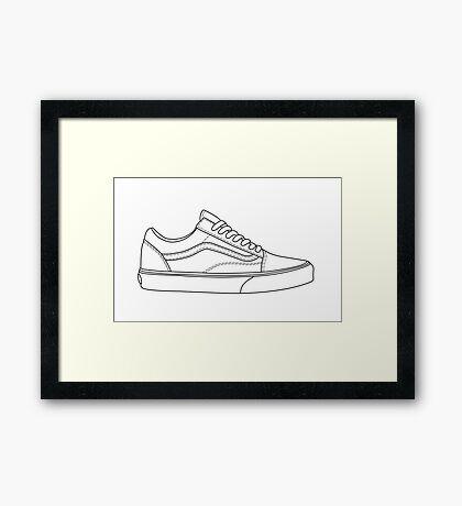 Low Van Framed Print