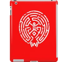 Westworld White Maze Logo iPad Case/Skin