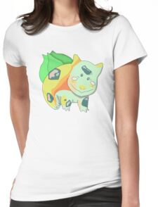 Pokemon- Bulbasaur Womens Fitted T-Shirt