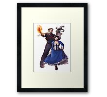 Bioshock realistic and cool design Framed Print